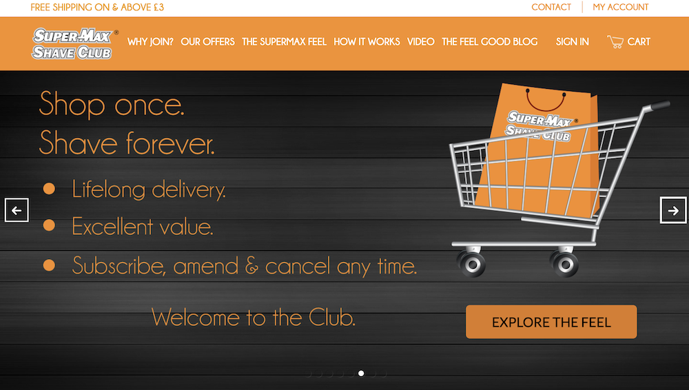 Super-Max Shave Club – Magento on AWS – Mactores Technology